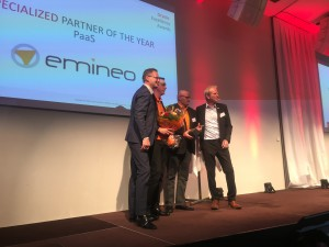Emineo - Oracle PaaS partner of the year!